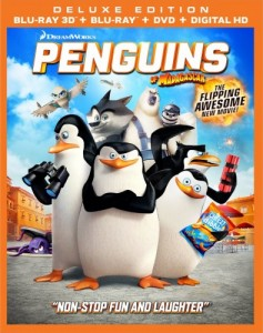 Penguins of Madagascar 3D Blu-Ray - 3D BDF 56905