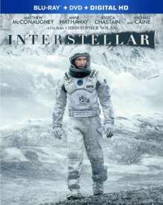Interstellar Blu-Ray - Y33554 BDW