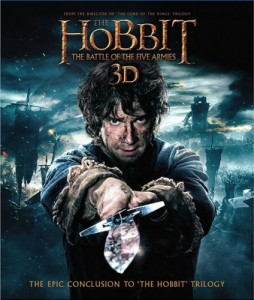 The Hobbit: The Battle of the Five Armies 3D Blu-Ray+Blu-Ray - Y33617 BDW