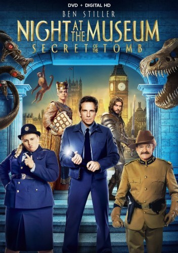 Night at the Museum: Secret of the Tomb DVD - 62208 DVDF