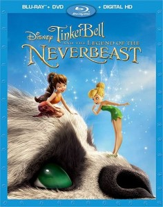 Tinker Bell and the Legend of the NeverBeast Blu-Ray - 10224932