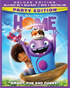 Home 3D Blu-Ray - 3D BDF 56902