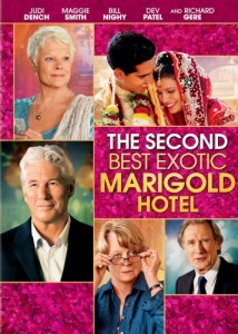 The Second Best Exotic Marigold Hotel DVD - 62518 DVDF