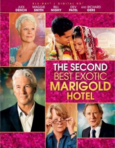 The Second Best Exotic Marigold Hotel Blu-Ray - BDF 62518