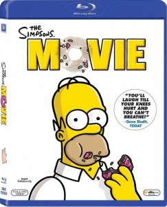 The Simpsons Movie Blu-Ray - BDF 34625