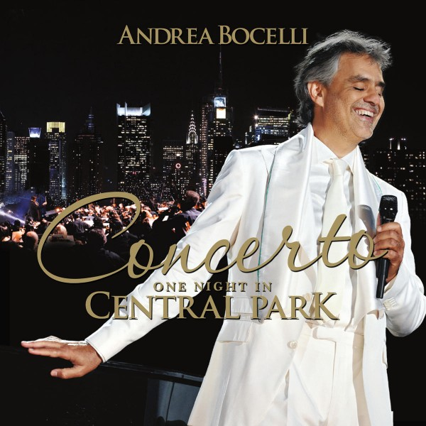 Andrea Bocelli - Concerto: One Night in Central Park (Remastered) CD - 06025 4730817