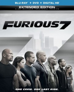 The Fast And The Furious: Furious 7 Blu-Ray - BDU 71944