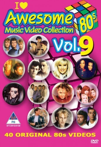 Awesome 80's Music Video Collection Vol. 9 DVD - DVBSP3335