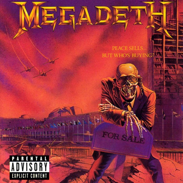 Megadeth - Peace Sells... But Who's Buying? VINYL - 00777 7125261