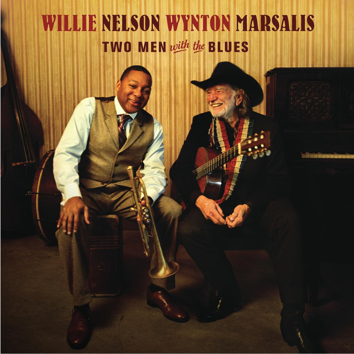 Willie Nelson & Wynton Marsalis - Two Men With The Blues VINYL - 50999 5044541