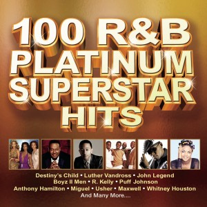 100 R&B Platinum Superstars Hits CD - CDBSP3339