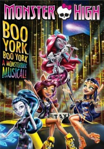 Monster High: Boo York, Boo York DVD - 73884 DVDU