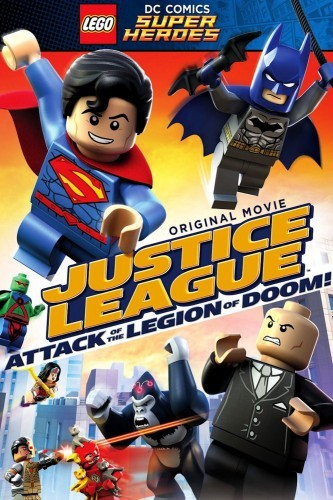 LEGO DC Super Heroes: Justice League - Attack of the Legion of Doom! DVD - Y33855 DVDW