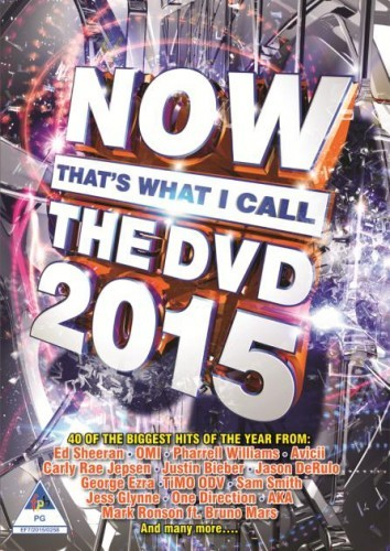 Now That's What I Call The DVD 2015 DVD - DVBSP3342