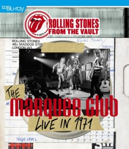 The Rolling Stones - From The Vault: The Marquee Club Live In 1971 Blu-Ray - ERSBD3020