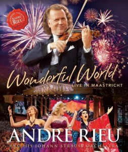 Andre Rieu & Johann Strauss Orchestra - Wonderful World - Live In Maastricht Blu-Ray - 06025 4747226