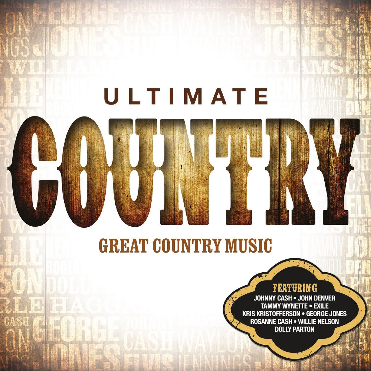 Ultimate... Country CD - CDSM615
