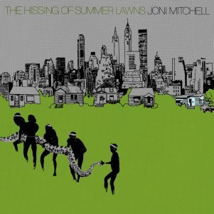 Joni Mitchell - Hissing Of Summer Lawns VINYL - 8122798615