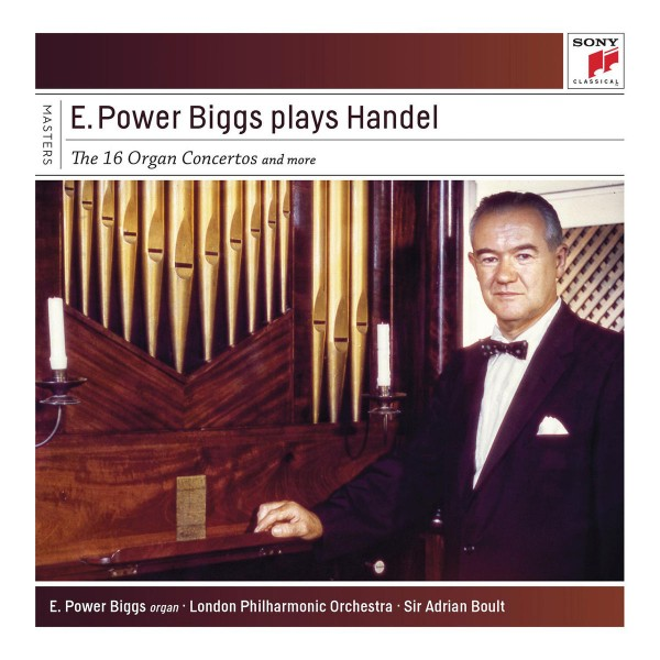 E. Power Biggs  - Plays Handel - The 16 Concertos and More CD - 88875051822