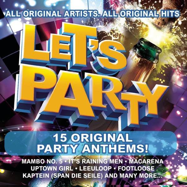 Let's Party! 15 Original Party Anthems CD - CDSM594