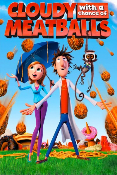 Cloudy with a Chance of Meatballs (Big Faces Range) DVD - 10225824