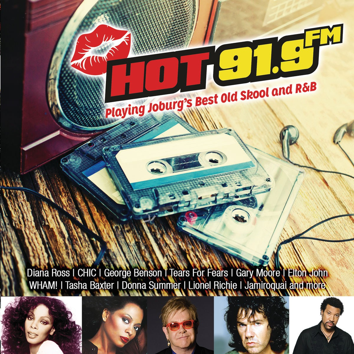 Hot 91.9 FM (Playing Joburg's Best Old Skool and R&B) CD - DARCD 3158