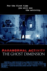 Paranormal Activity: The Ghost Dimension DVD - EL139008 DVDP