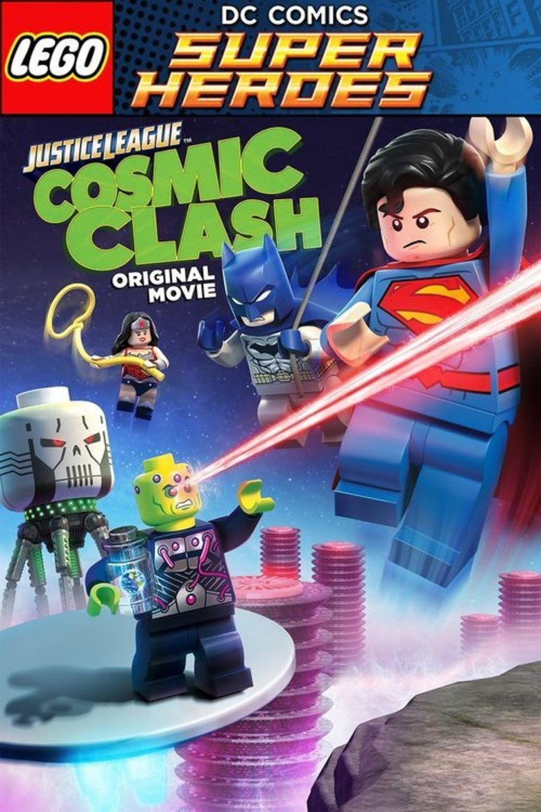Lego DC Comics Super Heroes: Justice League - Cosmic Clash DVD - Y34057 DVDW