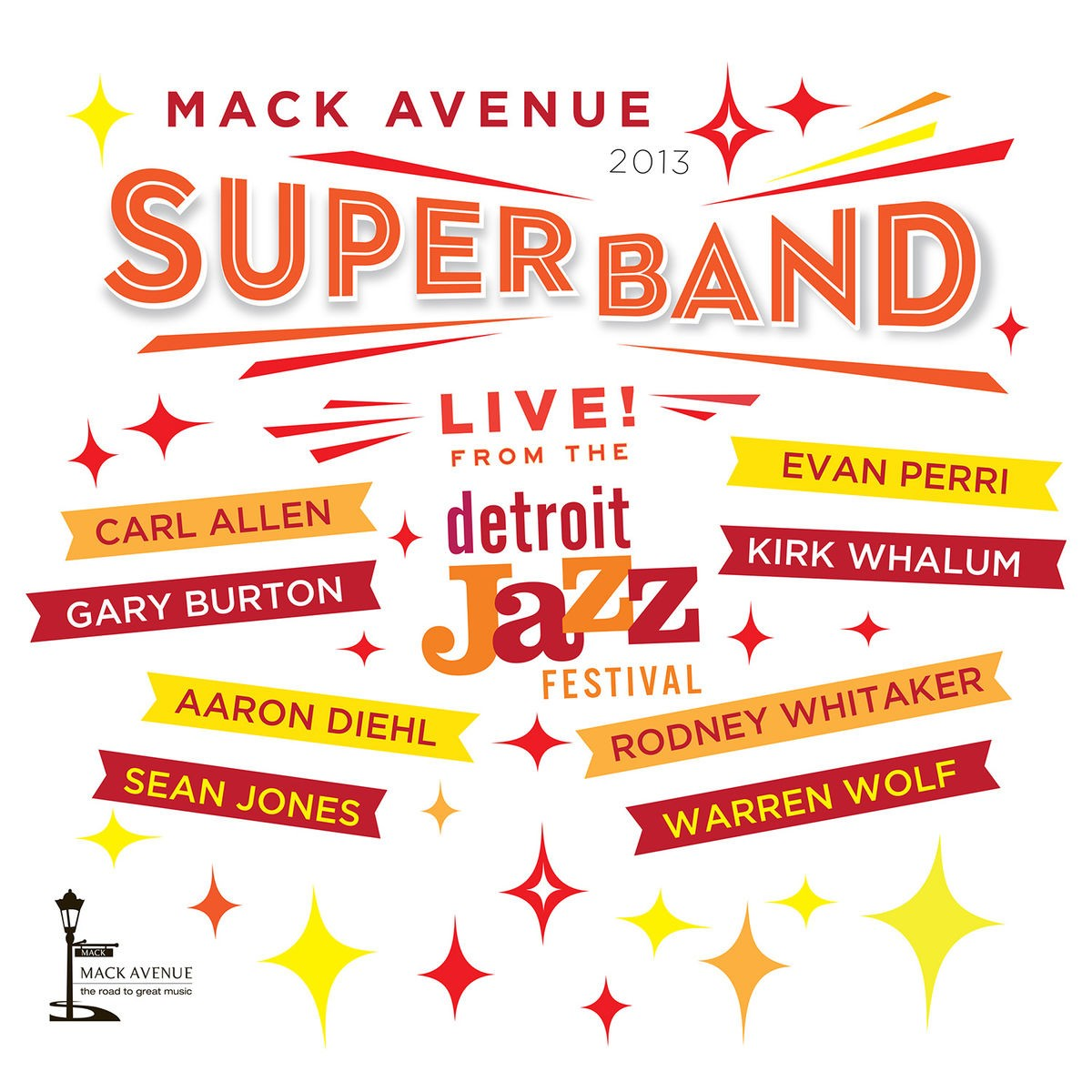 Mack Avenue Superband - Live from the Detroit Jazz Festival - 2013 CD - MAC 1086