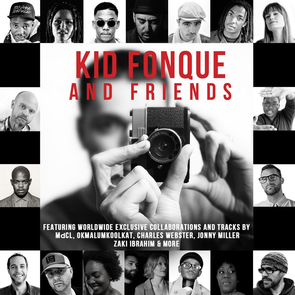 Kid Fonque  - Kid Fonque & Friends CD - SCCD249