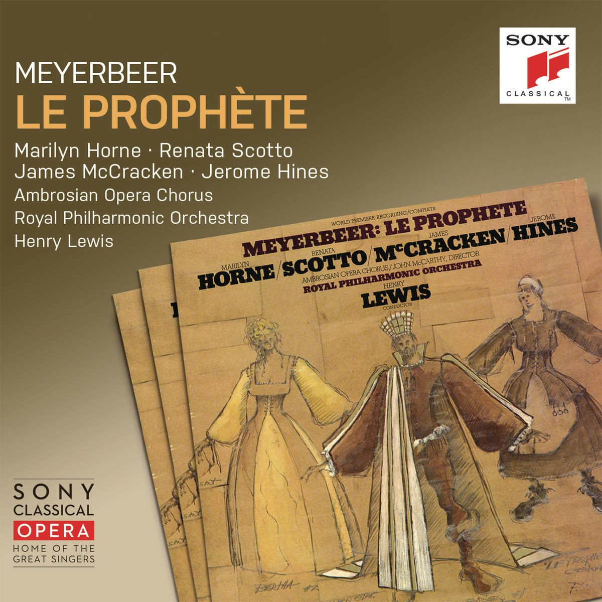 Henry Lewis & The Royal Philharmonic Orchestra - Meyerbeer: Le prophète CD - 88875194782