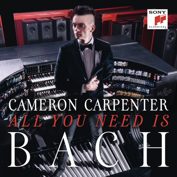 Cameron Carpenter - All You Need Is Bach CD - 88875178262