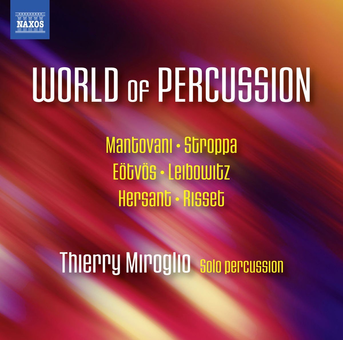 Thierry Miroglio - World of Percussion CD - 8573520