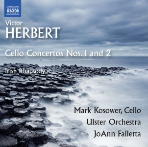 Mark Kosower , Ulster Orchestra & JoAnn Falletta - Herbert: Cello Concertos Nos. 1-2, & Irish Rhapsody CD - 8573517