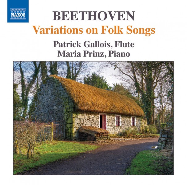 Patrick Gallois & Maria Prinz - Beethoven: Variations on Folk Songs CD - 8573337