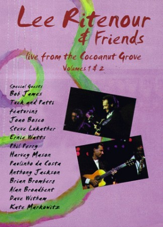 Lee Ritenour - Live From Coconut Grove DVD - EREDV094