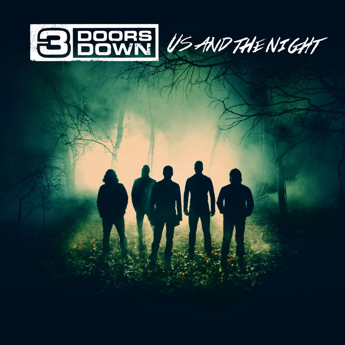 3 Doors Down - Us And The Night CD - 06025 4776643
