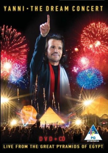 Yanni - The Dream Concert: Live from the Great Pyramids of Egypt DVD+CD - DVSONY7572