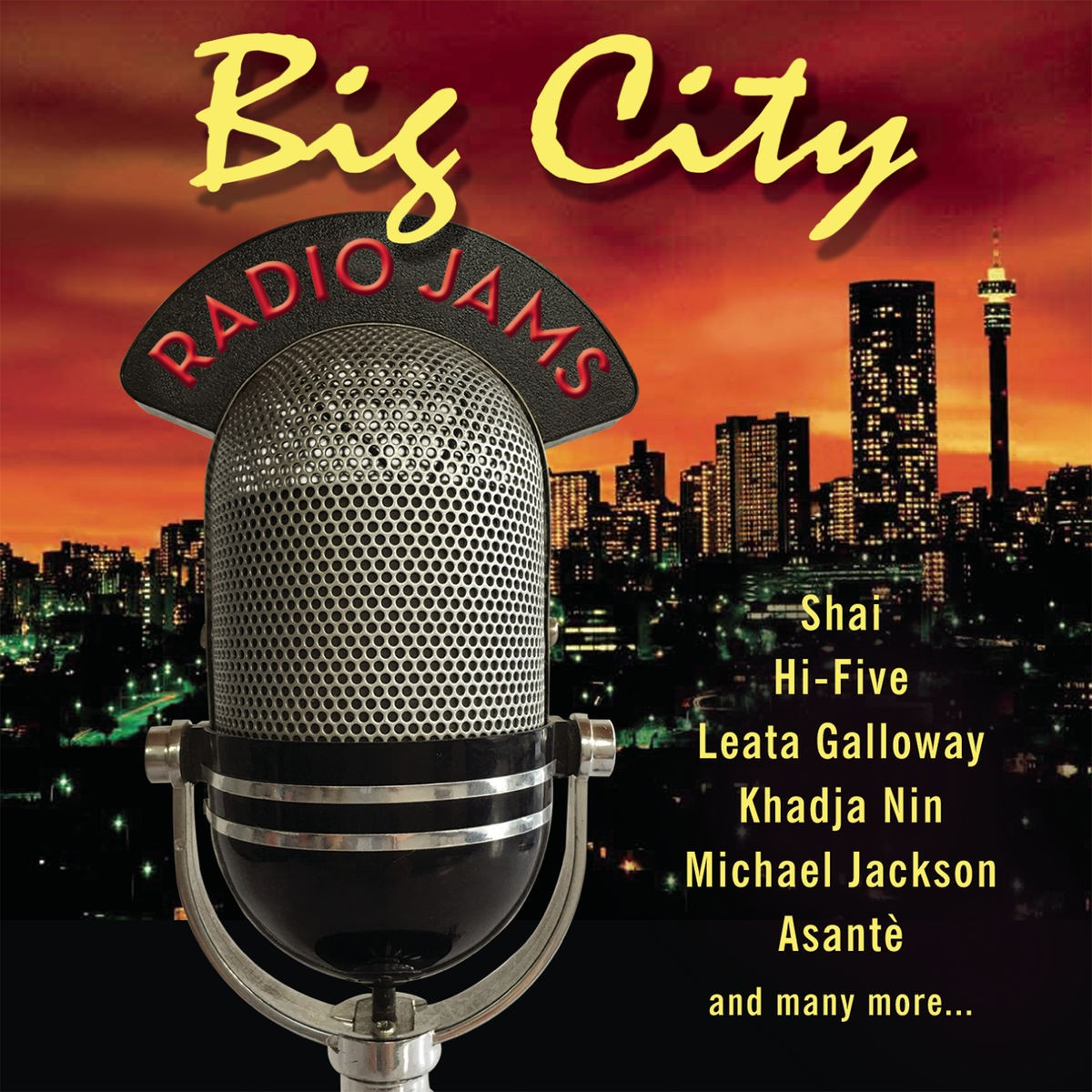 Big City Radio Jams CD - CDBSP3350