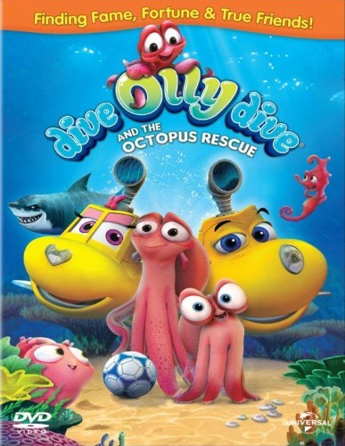 Dive Olly Dive And The Octopus Rescue DVD - 589299 DVDU