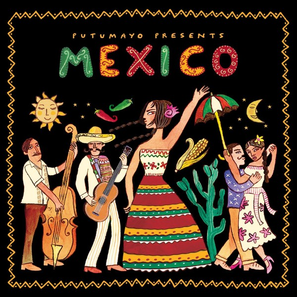 Putumayo Presents: Mexico CD - PUT359