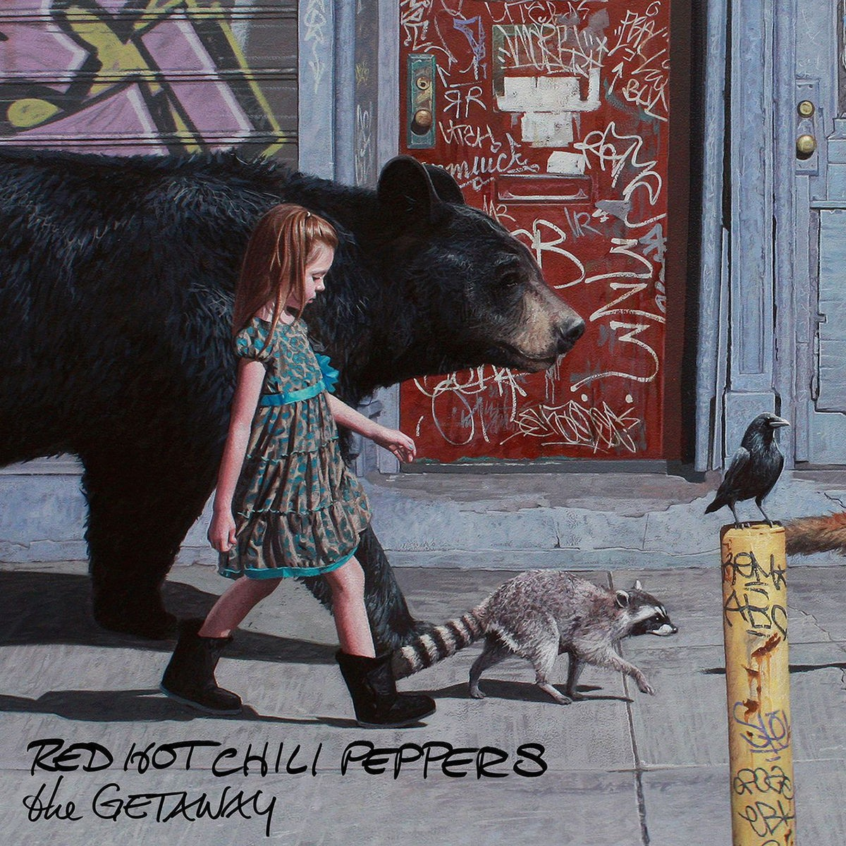 Red Hot Chili Peppers - The Getaway CD - WBCD 2366