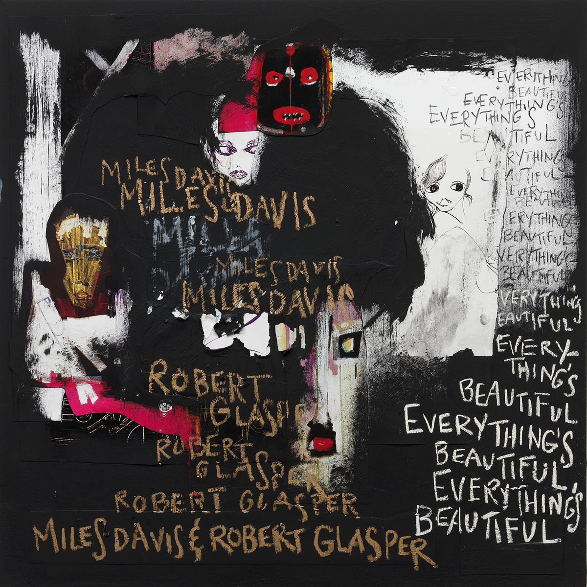 Miles Davis & Robert Glasper - Everything's Beautiful CD - 88875157812