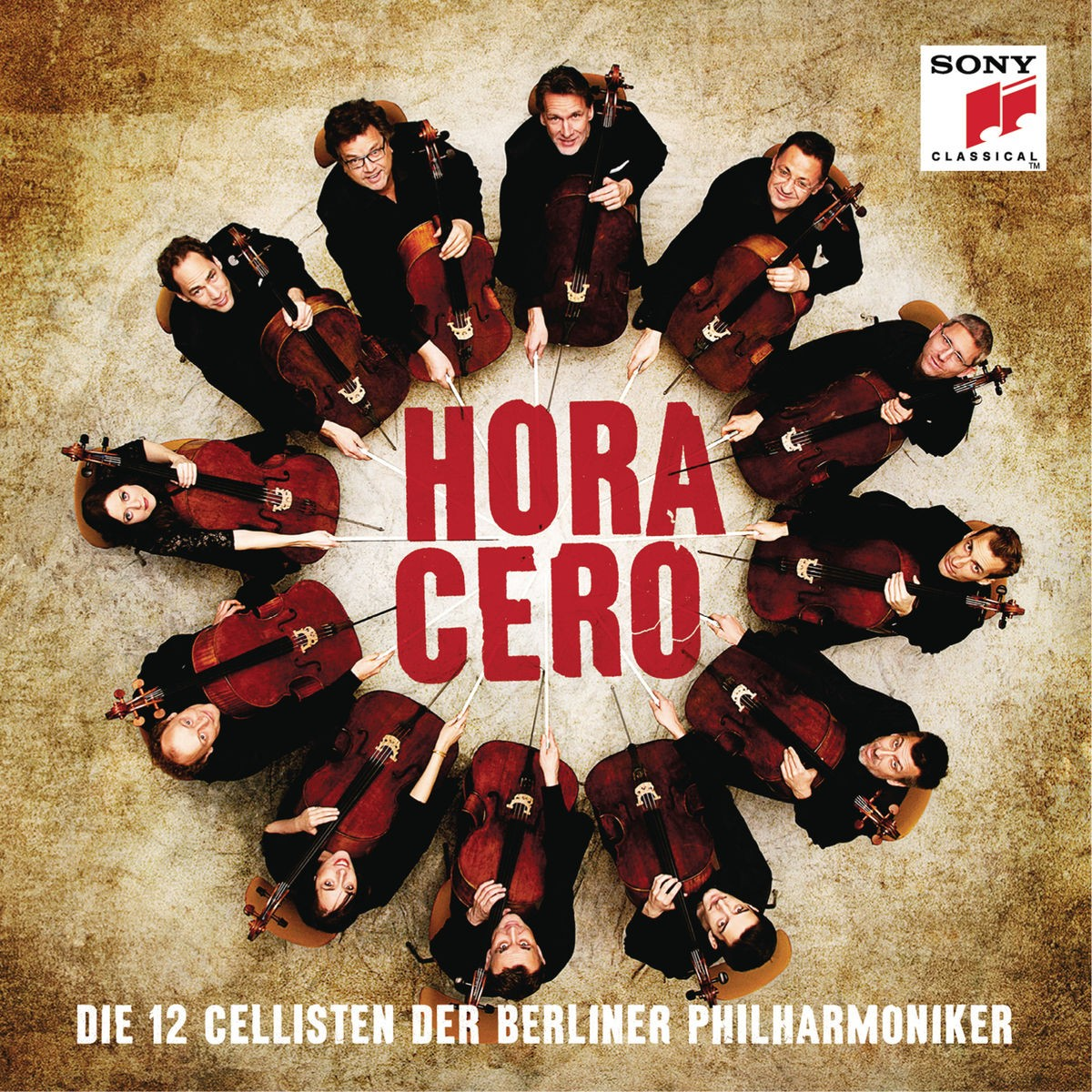 The 12 Cellists of the Berlin Philharmonic - Hora Cero CD - 88875143462