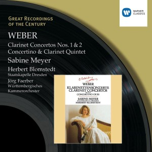 Sabine Meyer - Great Recordings of the Century - Weber: Clarinet Concertos 1 & 2, Concertino in E flat, Clarinet Quintet CD - 2564607589