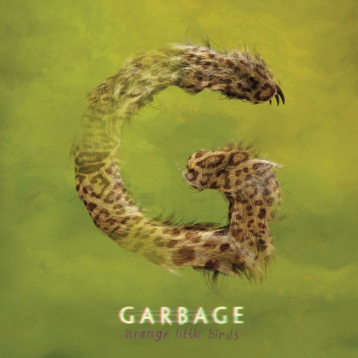 Garbage - Strange Little Birds CD - STNVOL 023CD