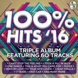100% Hits '16 CD - CSRCD403