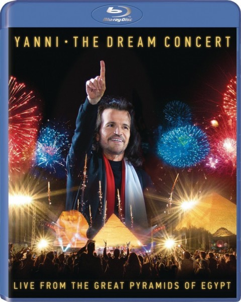 Yanni - The Dream Concert : Live From The Great Pyramids Of Egypt Blu-Ray - 88985307879
