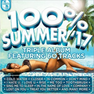 100% Top Hits Summer 2017 CD - CSRCD405