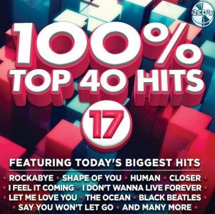 100% Top 40 Hits 17 CD - CSRCD407